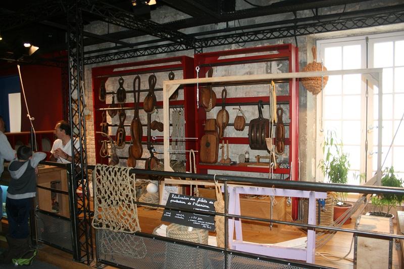 Reconstruction du navire de La Fayette . La_roc11