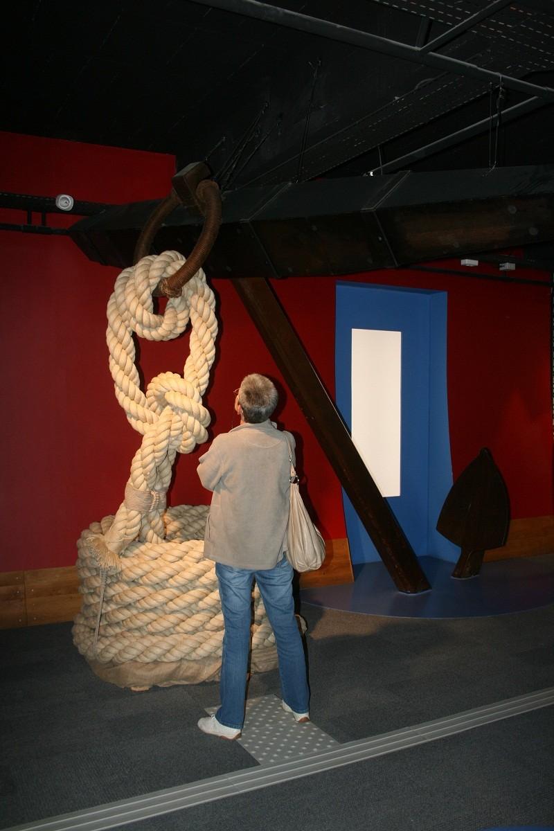 Reconstruction du navire de La Fayette . La_roc15