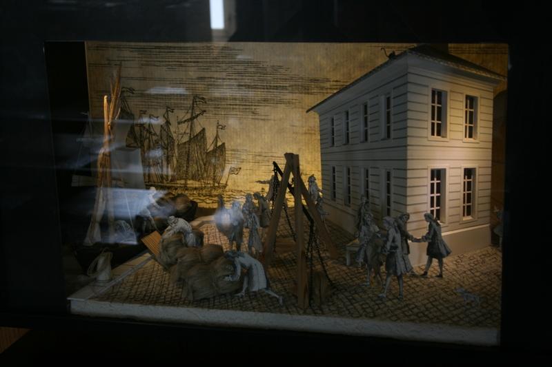 Reconstruction du navire de La Fayette . La_roc20