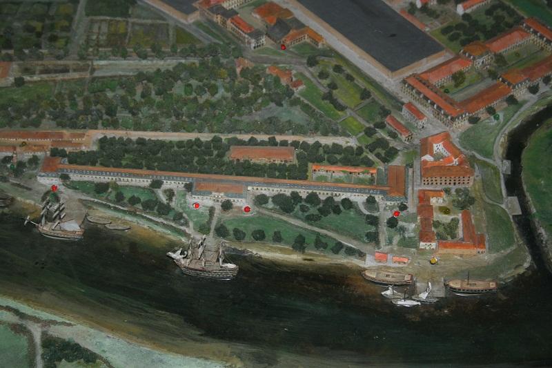 Reconstruction du navire de La Fayette . La_roc24