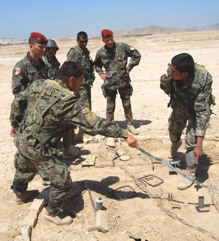 Des militaires du 1er RHP au service de l'armée nationale afghane 1er_rh10