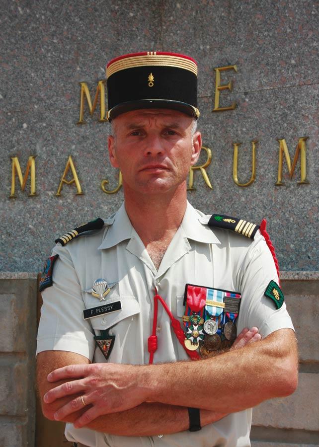 Le Chef de Corps du Régiment 2e REP 2011_127