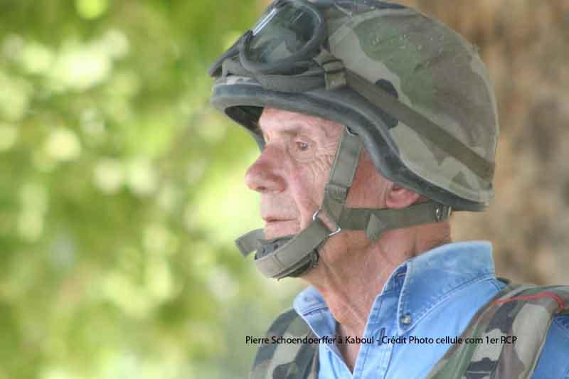 Pierre Schoendoerffer à Kaboul avec le 1er RCP 2012_071