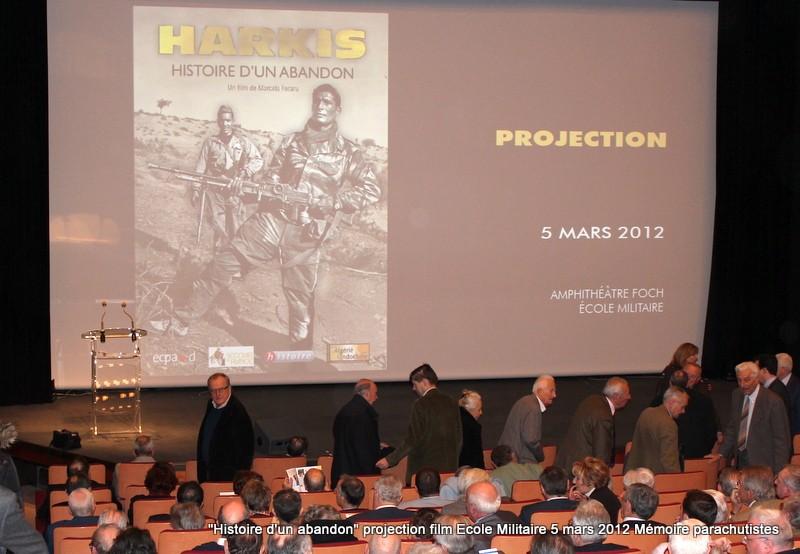 """Projection du documentaire """"Harkis, histoire d'un abandon"""" 5_mars12"""