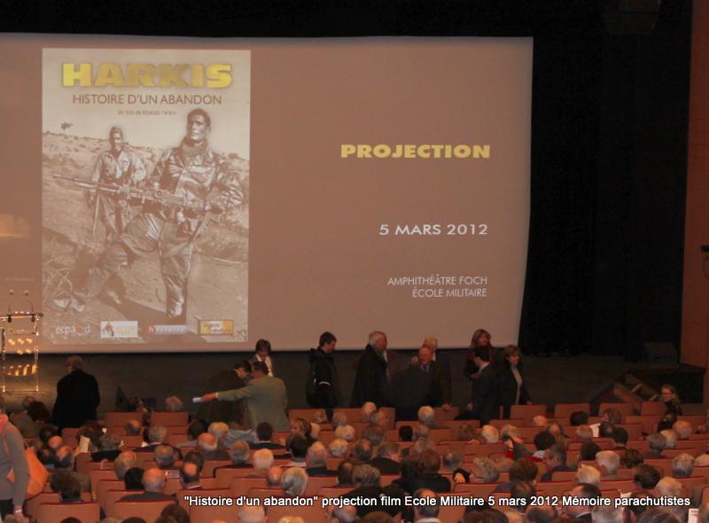 """Projection du documentaire """"Harkis, histoire d'un abandon"""" 5_mars13"""