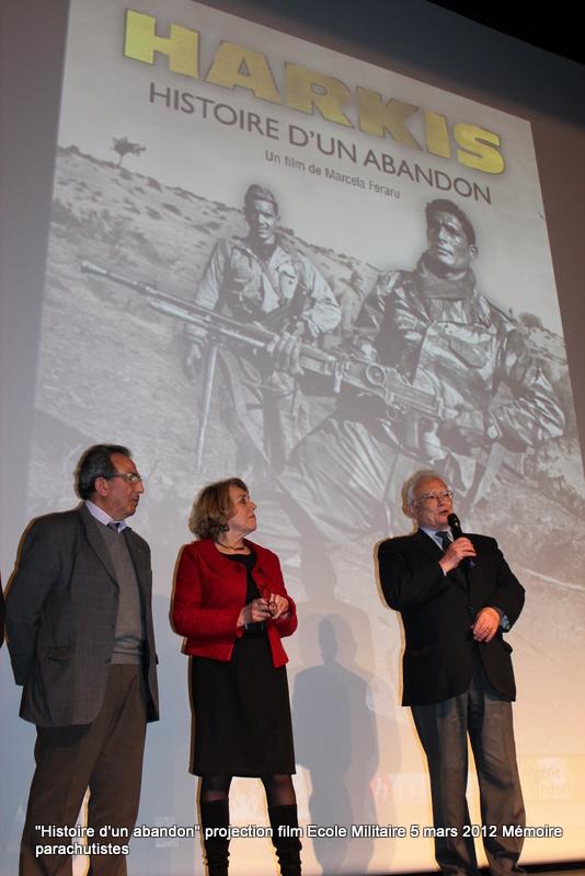 """Projection du documentaire """"Harkis, histoire d'un abandon"""" 5_mars20"""