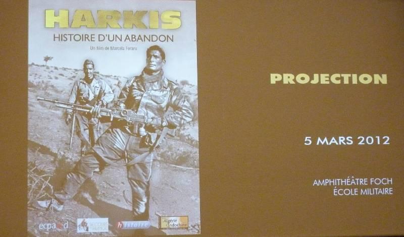 """Projection du documentaire """"Harkis, histoire d'un abandon"""" P1040910"""