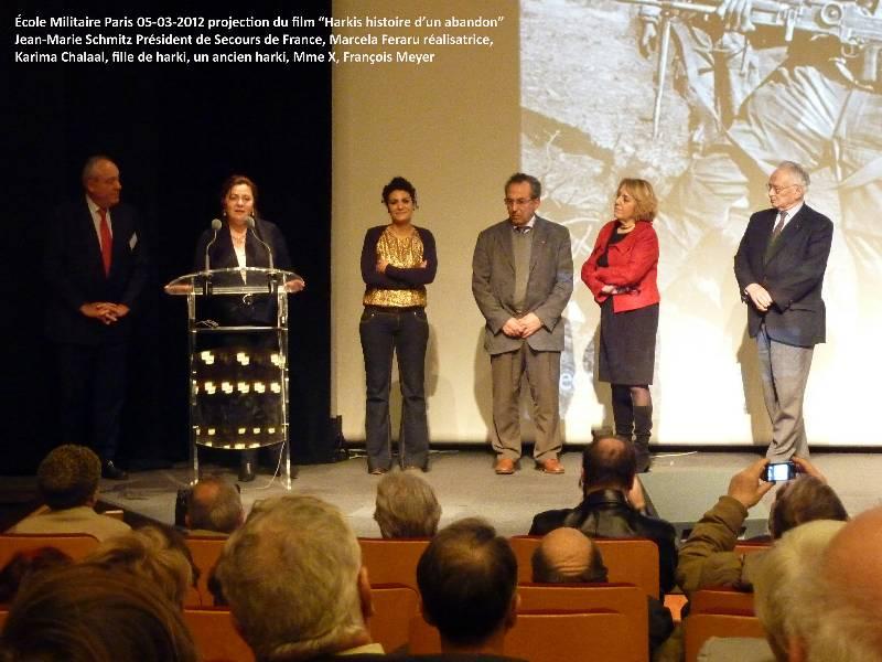 """Projection du documentaire """"Harkis, histoire d'un abandon"""" P1040915"""