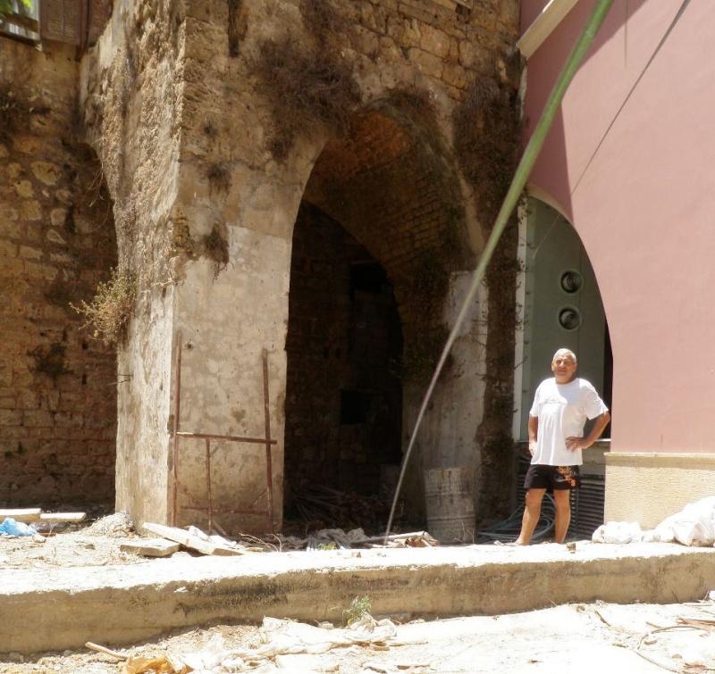 Beyrouth Le DRAKKAR PC du 1er RCP - 23 octobre 1983 dramatique souvenir...58 parachutistes des 1er et 9ème RCP sont tués sous les décombres de l'immeuble. P7140113