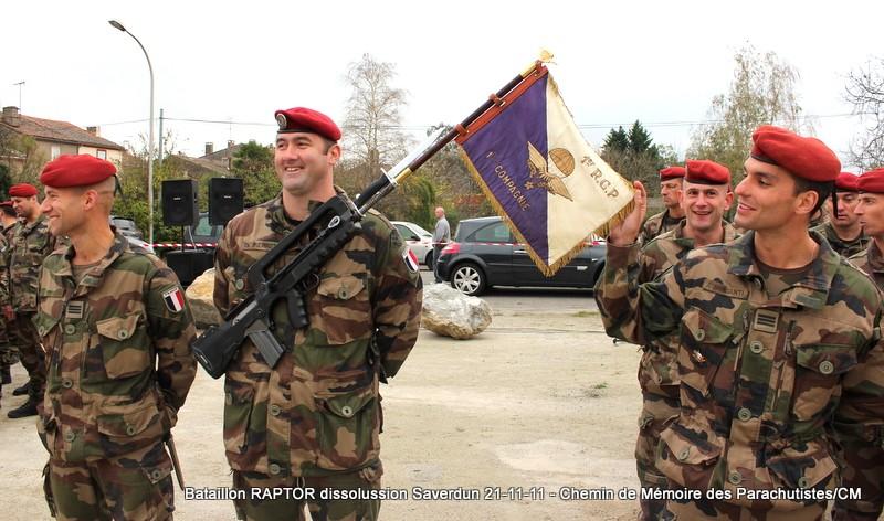 11e Brigade Parachutiste: Dissolussion du Battle Group RAPTOR à Saverdun Pamier12