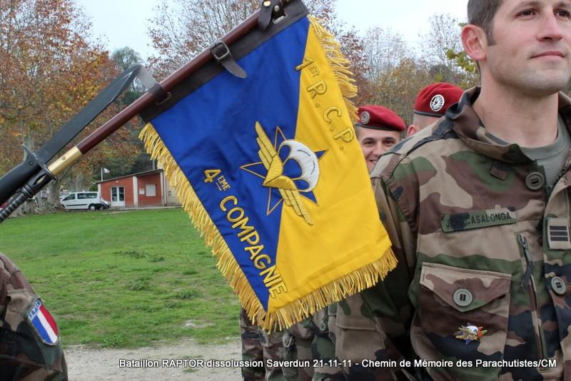 11e Brigade Parachutiste: Dissolussion du Battle Group RAPTOR à Saverdun Pamier15