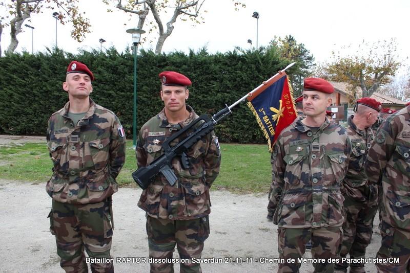 11e Brigade Parachutiste: Dissolussion du Battle Group RAPTOR à Saverdun Pamier24