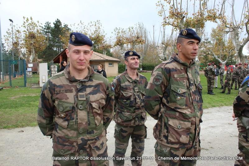 11e Brigade Parachutiste: Dissolussion du Battle Group RAPTOR à Saverdun Pamier25