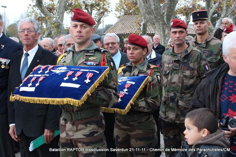 11e Brigade Parachutiste: Dissolussion du Battle Group RAPTOR à Saverdun Pamier26