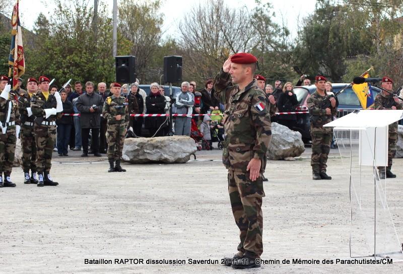 11e Brigade Parachutiste: Dissolussion du Battle Group RAPTOR à Saverdun Pamier27