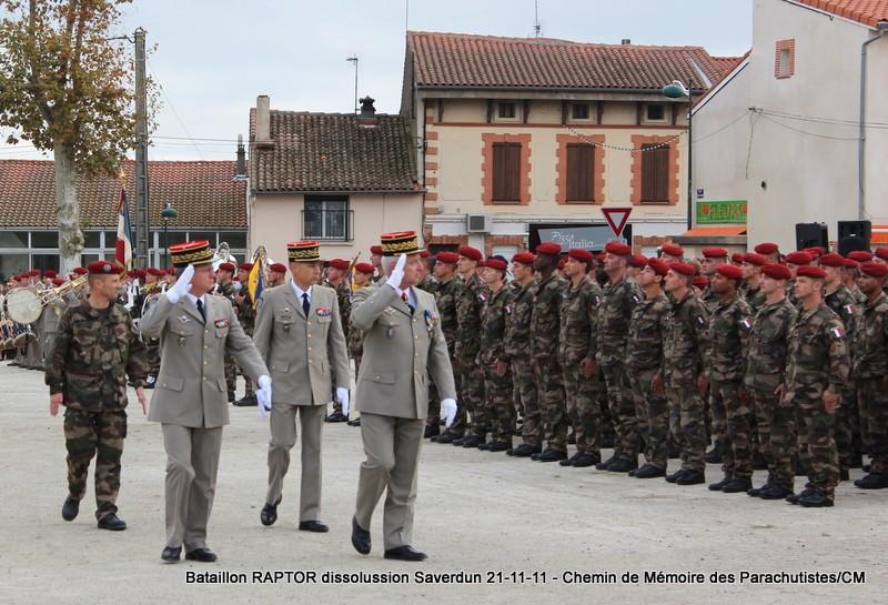 11e Brigade Parachutiste: Dissolussion du Battle Group RAPTOR à Saverdun Pamier28