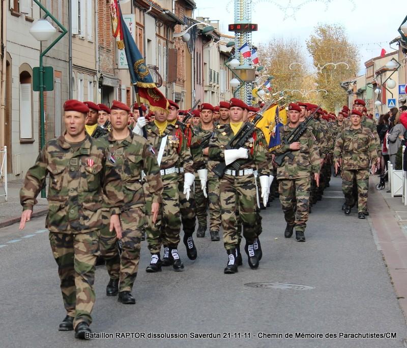 11e Brigade Parachutiste: Dissolussion du Battle Group RAPTOR à Saverdun Pamier29