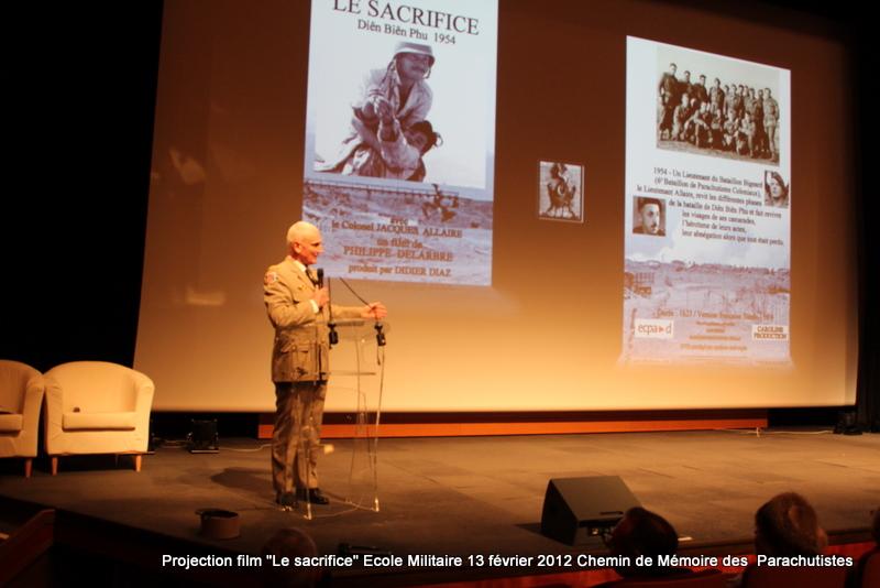 """Projection du film """"Le Sacrifice"""" - Dien Bien Phu le 13 Février 2012 à 19h00 Quercy11"""
