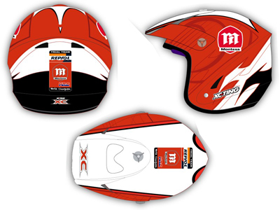 CASQUE MONTESA Xc14mo10