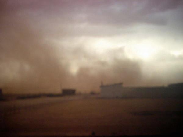 [Opérations diverses] Barrage électrifié frontière marocaine Dscn1112