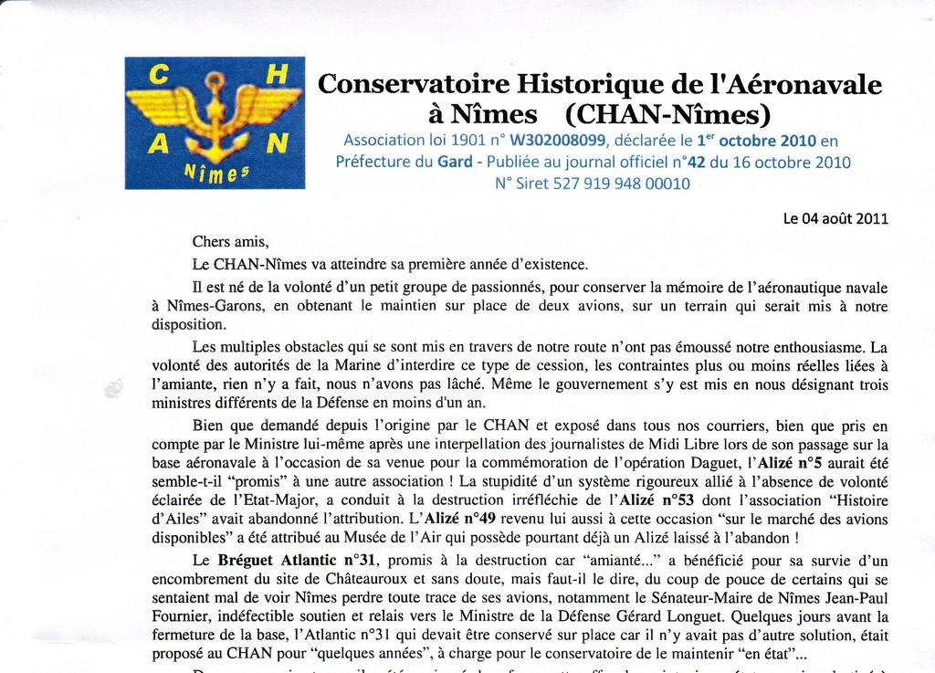 [Associations anciens marins] C.H.A.N.-Nîmes (Conservatoire Historique de l'Aéronavale-Nîmes) Sans_t23