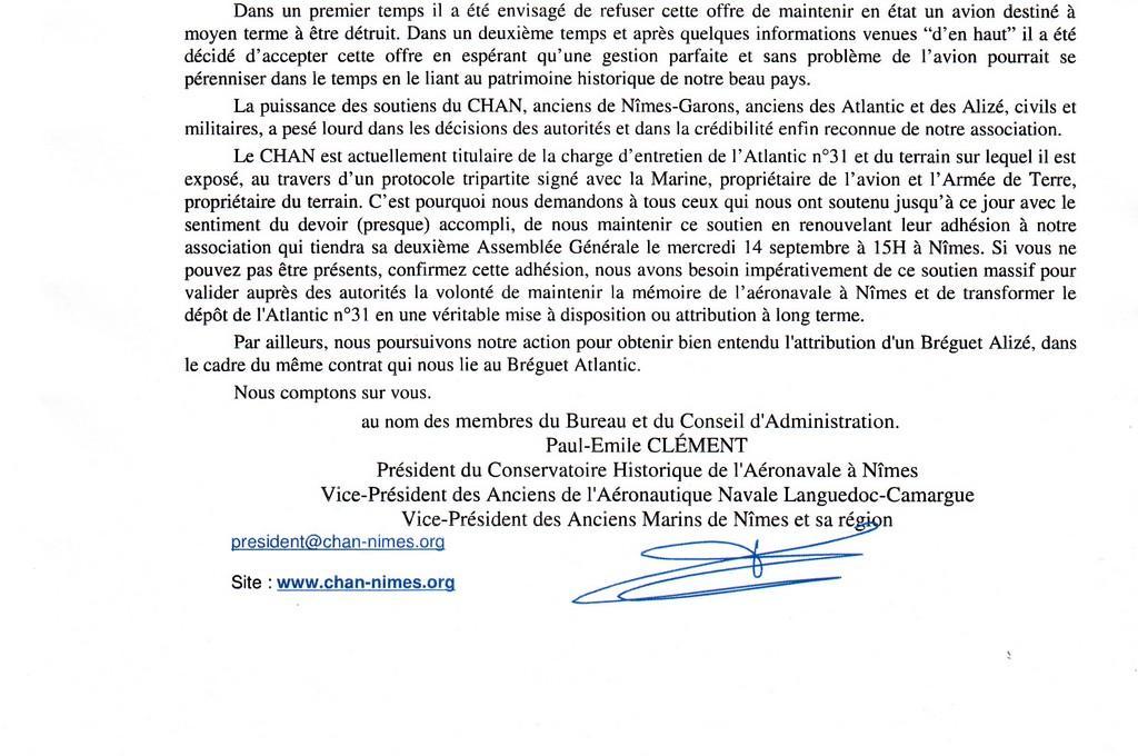 [Associations anciens marins] C.H.A.N.-Nîmes (Conservatoire Historique de l'Aéronavale-Nîmes) Sans_t24
