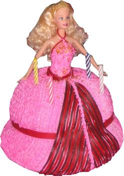 Mes gâteaux... Barbie10