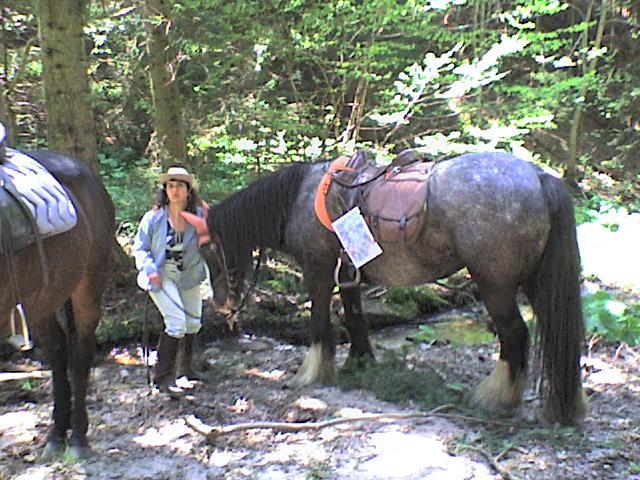 Roxane en rando chez les cow-boys (nouvelles photos !!!) Rando_29