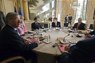 UE/crise: des premières mesures concrètes Reunio11