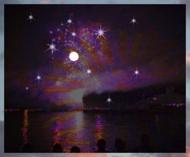 Photomontage pour la nuit et sa poésie 1110