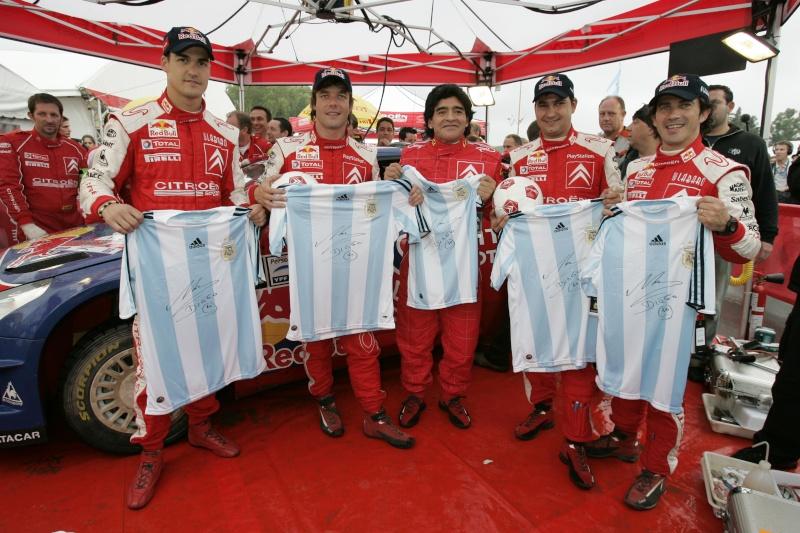 [Argentine 2008] Diego Maradona aux cotés de Loeb 53215_10