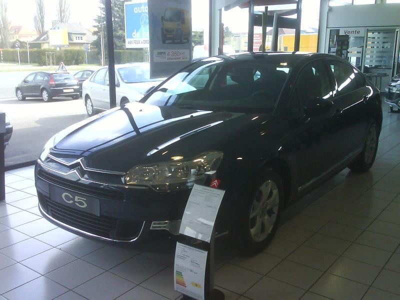 [Photos] La nouvelle Citroën C5 en concession Dsc00112