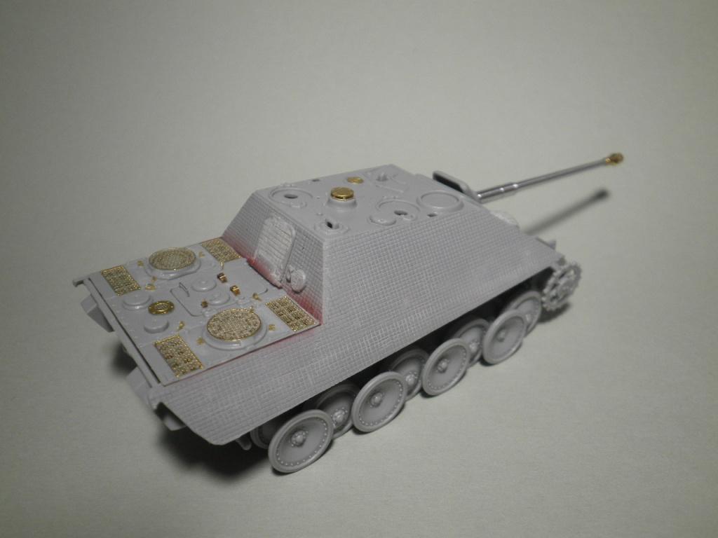 jagdpanther - Un autre bébé - Jagdpanther 1/72 P9195212