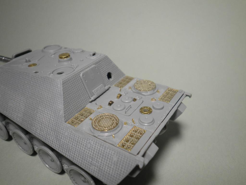 jagdpanther - Un autre bébé - Jagdpanther 1/72 P9195214