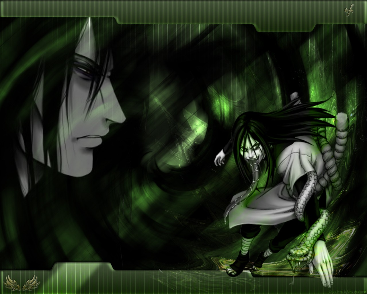 wallpapers Naruto, Bleach et One piece Fond-o10