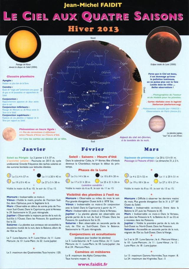 Infos astro commerciales  Ciel2010
