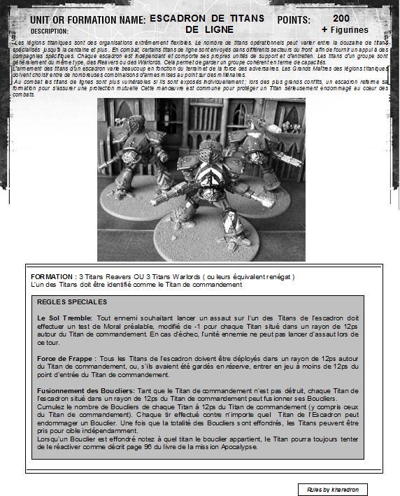 [datasheet] Escadron de Titans de Ligne Escadr10