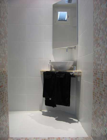 petite salle de bain avec douche italienne L0700310