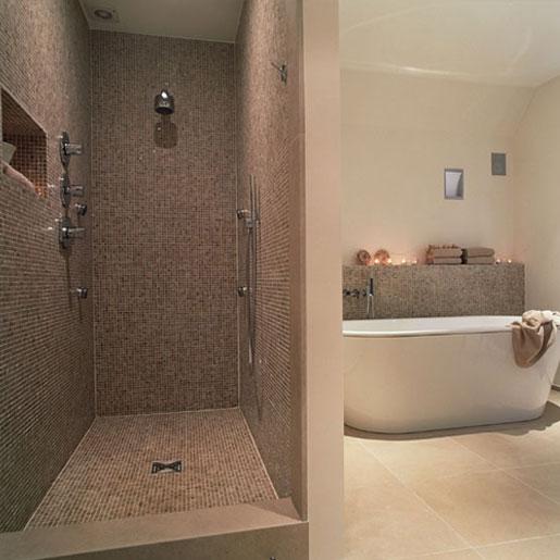 petite salle de bain avec douche italienne Showph10