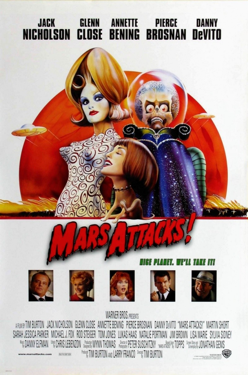 MARS ATTACKS !  -Trendmaster 1996- 936ful10