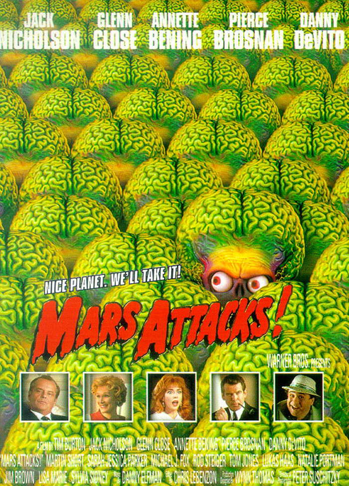MARS ATTACKS !  -Trendmaster 1996- 936ful11