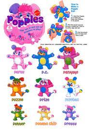 POPPLES (Mattel) 1986 Images15