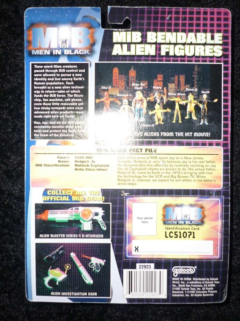 MEN IN BLACK (Galoob) 1997 P1020420