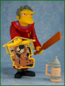 THE SIMPSONS   (BANDAI-PLAYMATES)  2001 Taille10