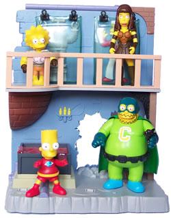 THE SIMPSONS   (BANDAI-PLAYMATES)  2001 Toys1010