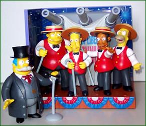 THE SIMPSONS   (BANDAI-PLAYMATES)  2001 Toys1210