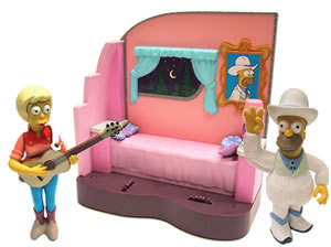 THE SIMPSONS   (BANDAI-PLAYMATES)  2001 Toys410