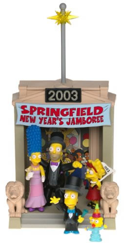 THE SIMPSONS   (BANDAI-PLAYMATES)  2001 Toys710