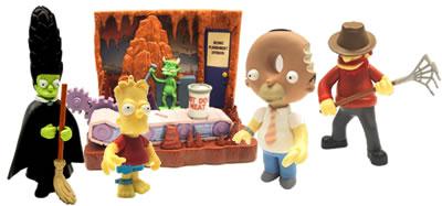 THE SIMPSONS   (BANDAI-PLAYMATES)  2001 Toys810