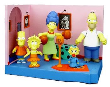 THE SIMPSONS   (BANDAI-PLAYMATES)  2001 Toys910